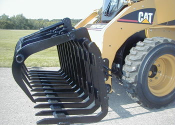 Scoop Style Rake with Grapple