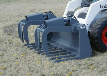 72″ Heavy Duty Spike Tine with Standard Grapple