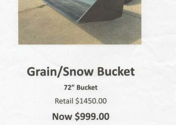 Grain/Snow Bucket